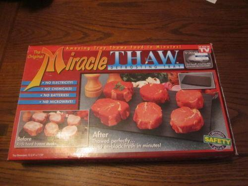 miracle thaw instruction manual