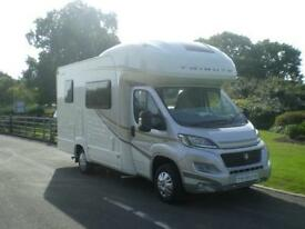 AUTOTRAIL TRIBUTE T-726, 6 berth motorhome with side bunks and rear bathroom