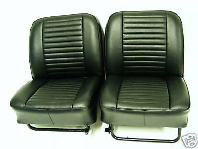 PAIR OF FORD CORTINA MK1 FRONT SEAT COVERS AEROFLOW 66