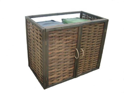 wheelie bin covers  garden  u0026 patio