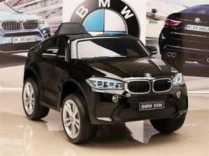12v Licensed BMW X6M Kids Ride On Car - Metallic Black Kingsgrove Canterbury Area Preview