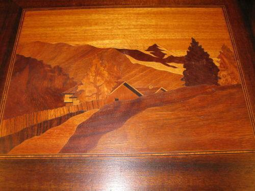 Inlaid Wood Art Ebay