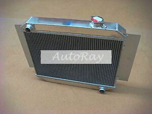 Aluminum Radiator for Holden Kingswood HD HR HK HT HG 6Cyl Manual 3 Rows 66-70