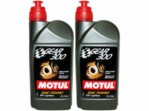 Motul Gear 300 75W-90 100% Synthetic Ester Based - 2 Pack. (2 Liters) 105777