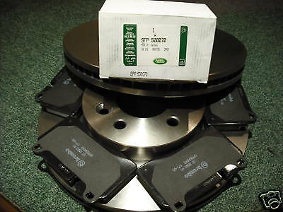 RANGE ROVER SPORT SUPERCHARGED/TDV8 FRONT DISCS & PADS SFP500070G + SDB000624x2
