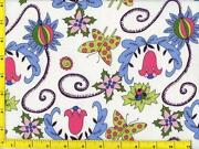 Folk Art Fabric