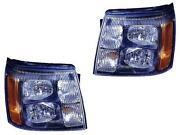 05 Cadillac Escalade Headlights