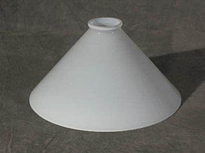 GLASSCHIRM  LAMPENGLAS  OPAL  NEU  SCHUSTER  Ø 25CM  ERSATZGLAS