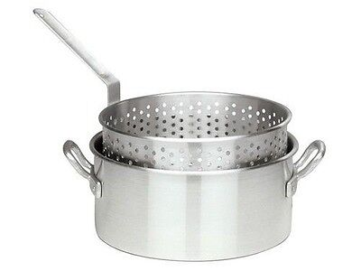 Bayou Classic 10 Quart Aluminum Fry Pot & Basket With Cool Touch Handle 3