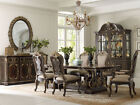 Solid Wood Dining Furniture Sets with Additional Leaves