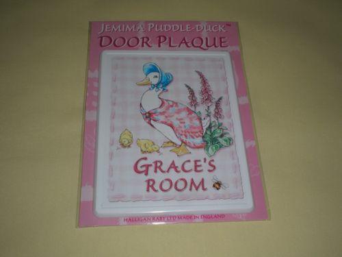 Childrens Door Plaques Ebay