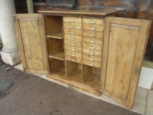 - Victorian Pine Cupboard EBay