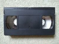 BLANK VHS TAPES E180...3hrs
