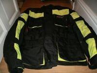 RST motorbike jacket - LARGE