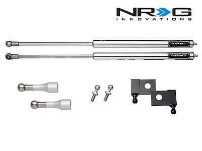 NRG Hood Bonnet Damper Kit Stainless Steel For 03-08 Nissan 350Z Z33 & 03-07 G35 - Nrg Hood Damper Kit