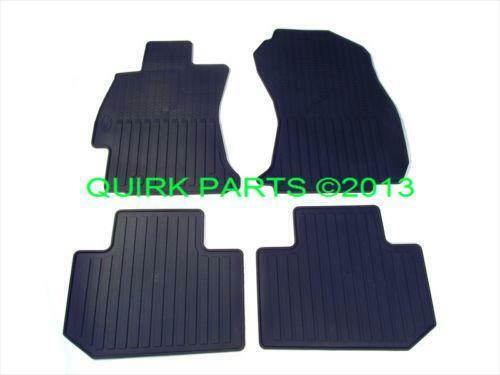 subaru forester floor mats ebay. Black Bedroom Furniture Sets. Home Design Ideas