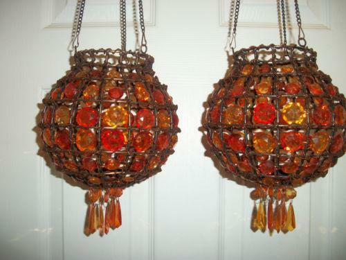 Hanging Tea Light Candle Holder Ebay