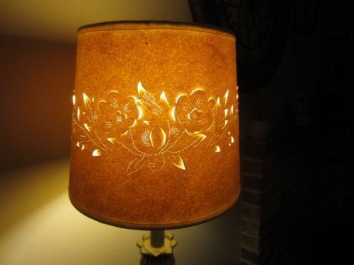 Vintage Paper Lamp Shade Ebay