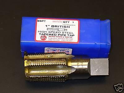"TTC 1//8/""-28 HSS RH BSPP 55° Whitworth Thread British Pipe Tap"