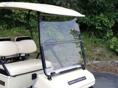 6007 Tinted Folding Windshield for Yamaha G14-G19 Golf Cart