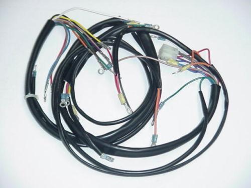 1972 ironhead sportster wiring diagram ironhead bobber wiring harness 1975 sportster | ebay