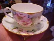 Haviland Limoges Purple Flowers