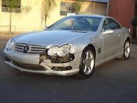 MERCEDES SL55 sl500 WANTED ANY CONDITION cl600 cls600 cl500 cl55 g55 amg