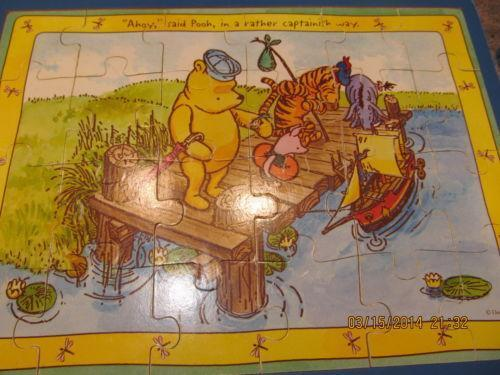 Winnie The Pooh Puzzle Ebay