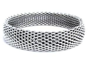 Tiffany Silver Mesh Bracelet