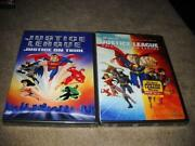 Justice League Crisis DVD