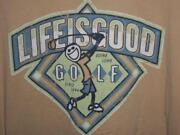 Life Is Good Golf Shirt
