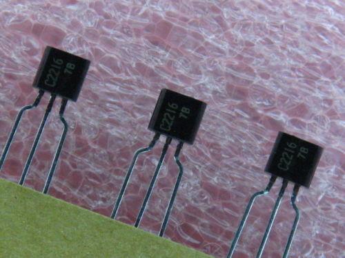 20X IF RF Amplifier BJT NPN 50V 50mA Transistor TO92 -20pcs [  2SC2216 ]