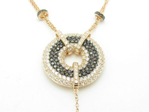 chocolate diamond necklace ebay. Black Bedroom Furniture Sets. Home Design Ideas