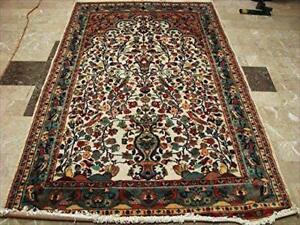 Excellent Tree Life Rectangle Area Rug Room Decorative Mat Hand Knotted Wool Silk Carpet (5 x 8)'