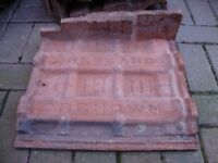 CLOAKED VERGE ROOF TILES FOR SALE