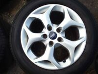 ford c max alloy wheel with tyre in good condition will fit other models