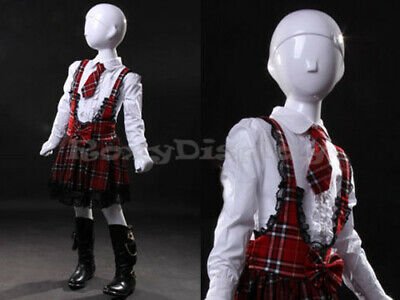 Child Fiberglass Abstract Mannequin Dress Form Display Mz-tom7
