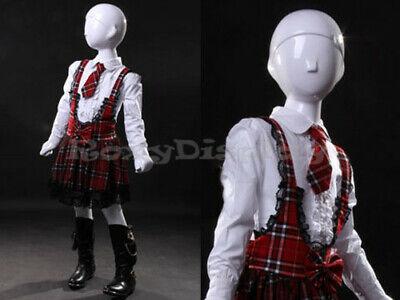 Child Fiberglass Abstract Mannequin Dress Form Display Mz-tom7