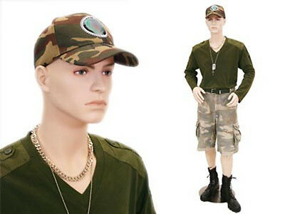 Male Mannequin Teenager Style Dress Form Display Md-steve