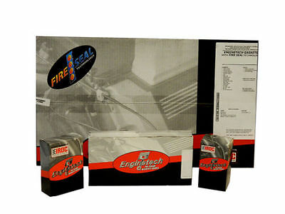 Enginetech Engine Rering Kit Chevy 235 56-62 Rings Rod & Main Bearings Gaskets