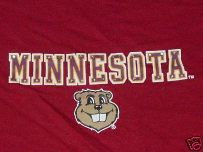 University MINNESOTA GOPHER Cap Sleeve Womens  T-Shirt NEW  sz.. (University Womens Cap Sleeve T-shirt)