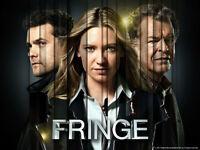 FRINGE - Seasons 1, 2, 3, 4, & 5 - All on Blu-ray.