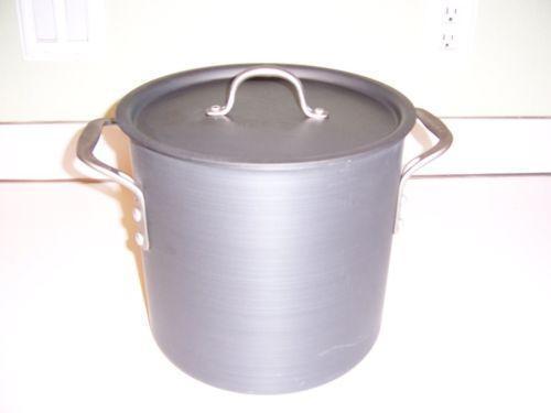 Used Aluminum Stock Pot Ebay
