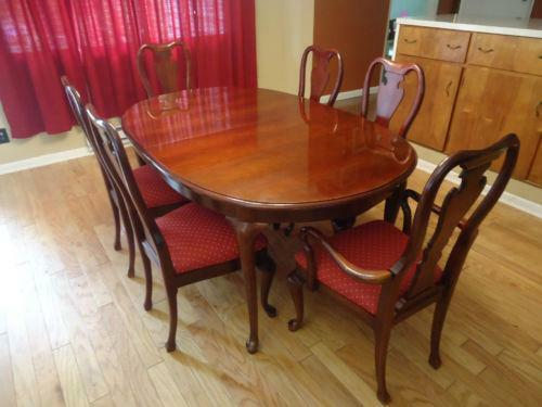 Queen anne dining table ebay workwithnaturefo
