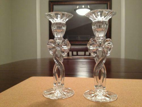 Waterford Crystal Candlestick Holders Ebay