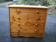 Used Pine Chest Drawers