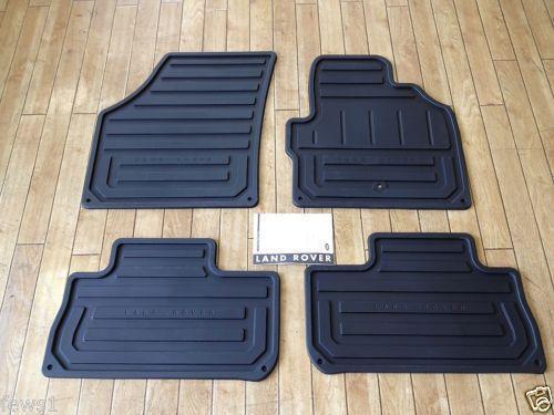 Deployed Side Steps For Range Rover Genuine Accessory: Genuine Freelander Rubber Mats