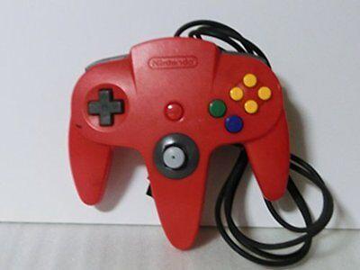 USED NINTENDO 64 Controller Bros Red Japan RARE