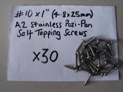 1 1/2 x 8 Screws