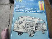 VW Workshop Manual